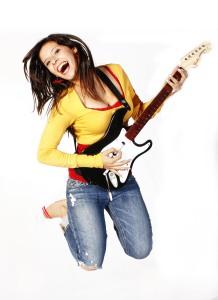 Wii E- Guitarra - Mundo Consola