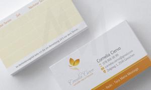 Business Card Cornelia- Diseño por Marielba Moreno Diseño Gráfico