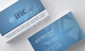 Business Card- IFIC Beto - Diseño por Marielba Moreno Diseño Gráfico