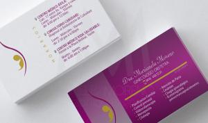 carta de visita Dra. Marianela - Diseño por Marielba Moreno Diseño Gráfico