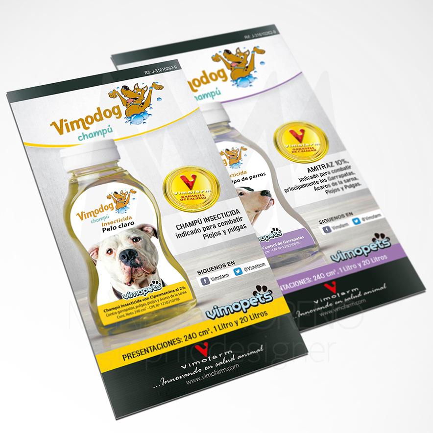 Volante Vimodog - Diseño por Marielba Moreno Diseño Gráfico
