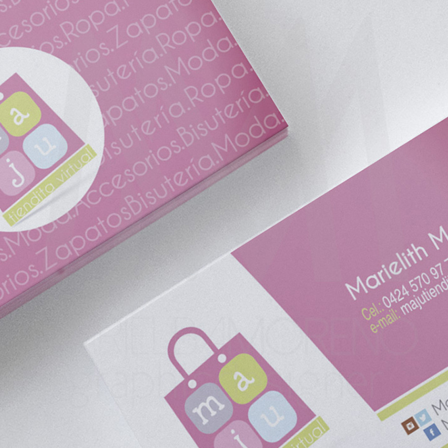 Maju tiendita – Business-Card