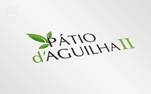 Realistic Logo Patio d-aguilha - Diseño por Marielba Moreno Diseño Gráfico