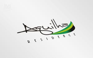 Logo Aguilha Residence - Diseño por Marielba Moreno Diseño Gráfico
