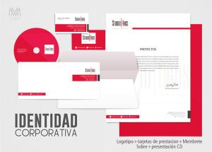 StudioHaus Branding Identity - Diseño por Marielba Moreno Diseño Gráfico