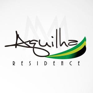 Logo Aguilha Residencez - Diseño por Marielba Moreno Diseño Gráfico