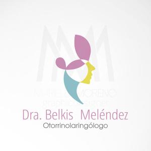 Logo Dra. Belkis Melendez - Diseño por Marielba Moreno Diseño Gráfico