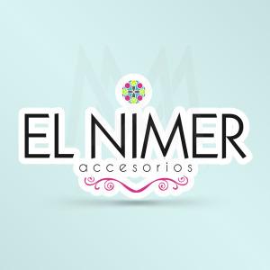 Logo El Nimer - Diseño por Marielba Moreno Diseño Gráfico