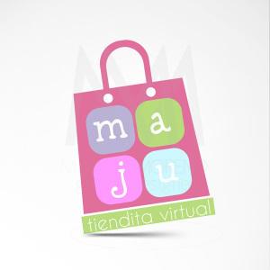 Logo Maju Tiendita - Diseño por Marielba Moreno Diseño Gráfico