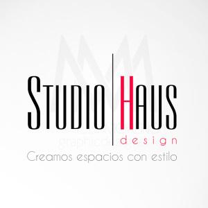 Logo StudioHaus - Diseño por Marielba Moreno Diseño Gráfico