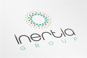 Logo inertia Group - Diseño por Marielba Moreno Diseño Gráfico