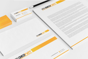 Logo GEONAT - Diseño por Marielba Moreno Diseño Gráfico