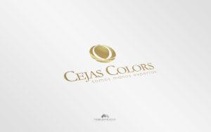 Logo Cejas Colors - Diseño por Marielba Moreno Diseño Gráfic