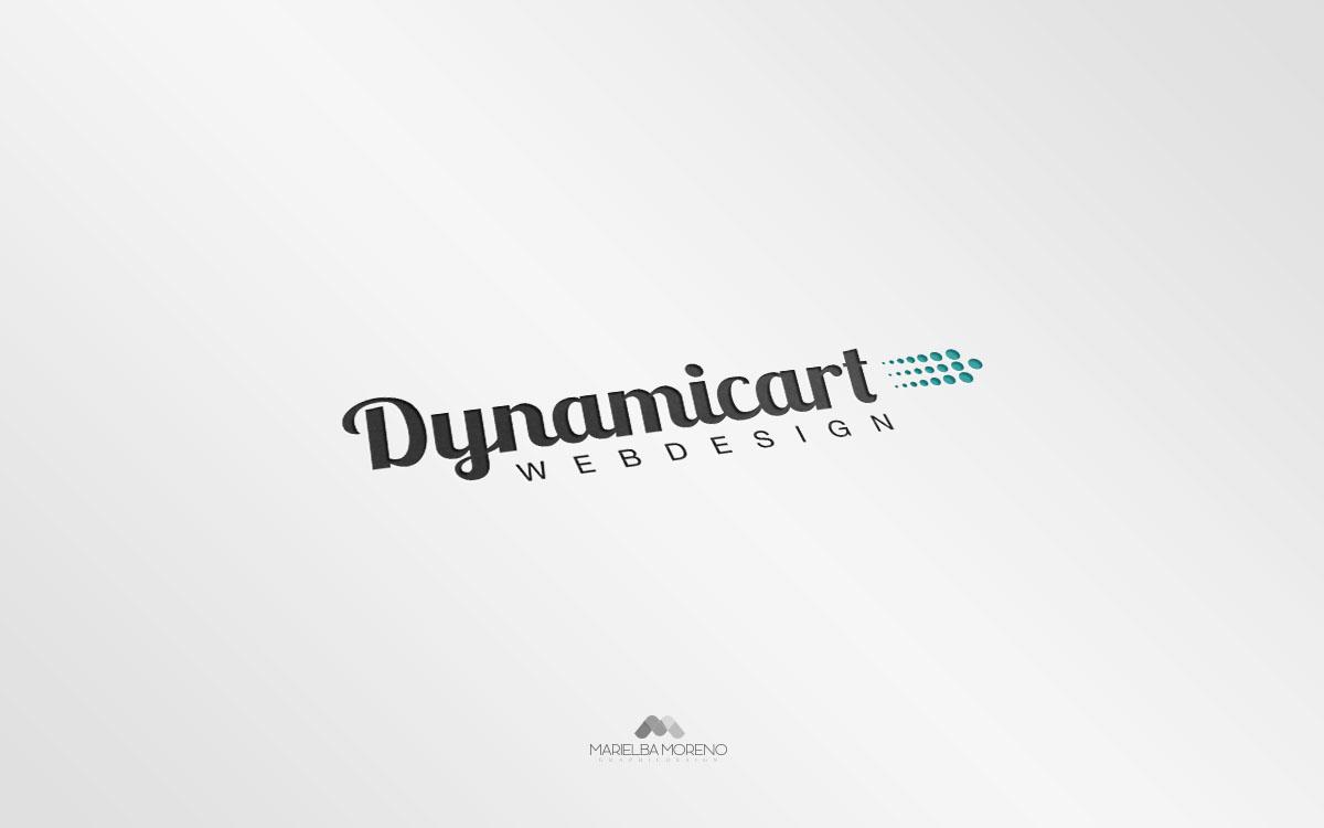 Logo Dynamicart - Diseño por Marielba Moreno Diseño Gráfic