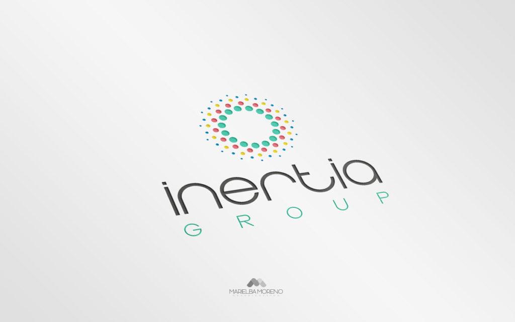 Logo Inertia - Diseño por Marielba Moreno Diseño Gráfico