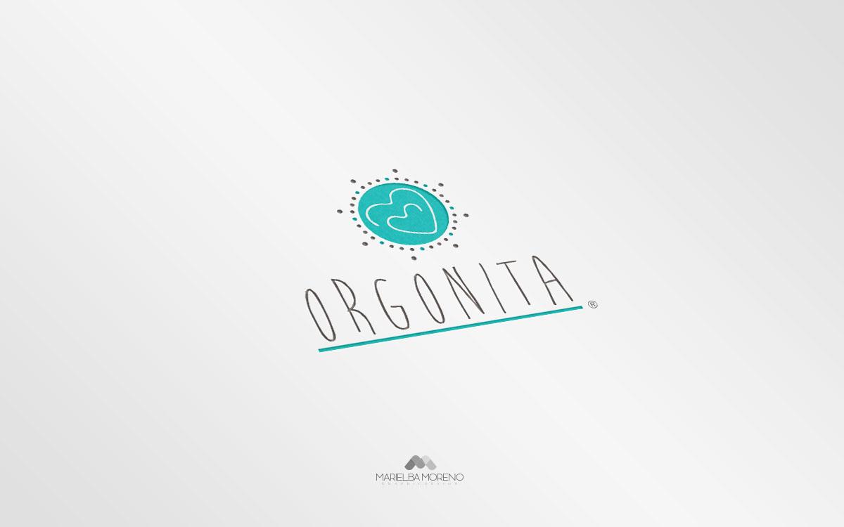Logo Orgonita - Diseño por Marielba Moreno Diseño Gráfico