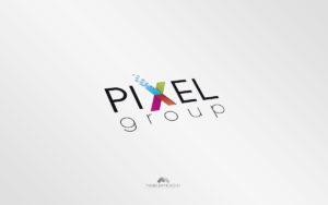 Logo Pixel Group- Diseño por Marielba Moreno Diseño Gráfico