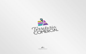 Logo Territorio Comercial - Diseño por Marielba Moreno Diseño Gráfico