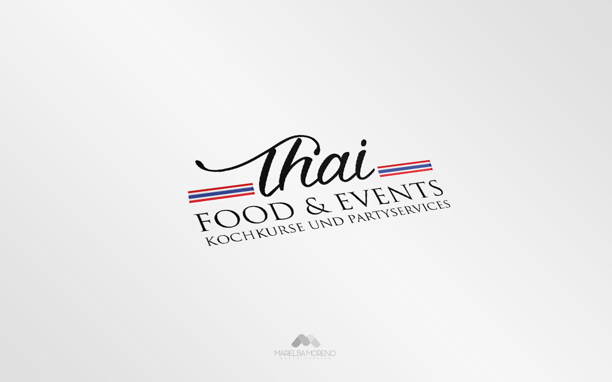 Logo Thai Food & Events