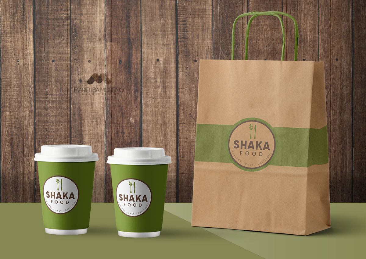 Shaka Food  Bolsas y vasos