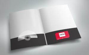 Folder Studio Haus - Diseño por Marielba Moreno Diseño Gráfico