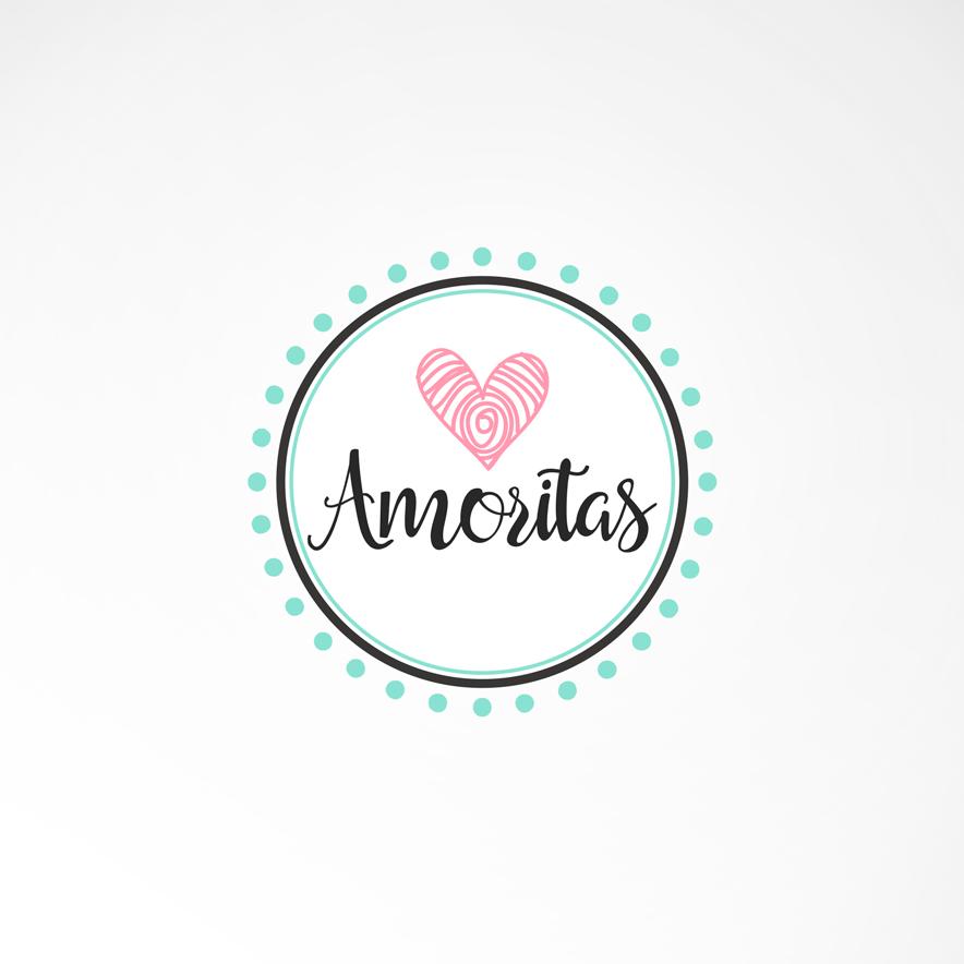 Logo Amoritas Diseño por Marielba Moreno Diseño Gráfico
