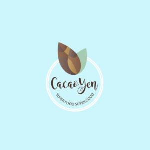 Logo Cacao Yen Diseño por Marielba Moreno Diseño Gráfico