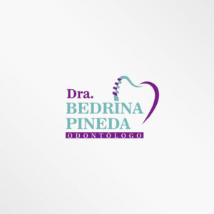 Logo Dra. Bedrina- Odontólogo Diseño por Marielba Moreno Diseño Gráfico