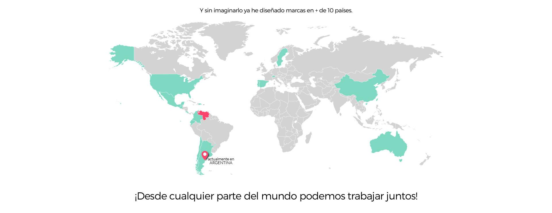 Mapa_ Diesño - Clientes Internacionales